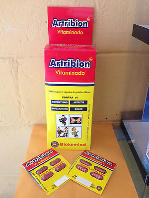 Totally New Artribion Vitaminado  X 80 Caps  OFFER + 8 more capsules TOTAL 88!!