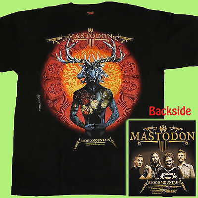 T-SHIRT MASTODON Blood Mountain EXTREME METAL CD SIZE S