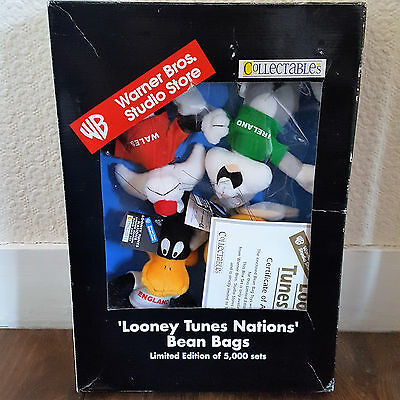 Looney Tunes Nations Bean Bags Limited Edition Collectable Set (Warner Bros.)