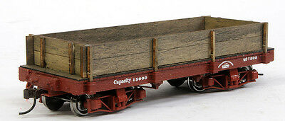 On30 Gon conversion for Bachmann 18 foot On30 flat car/ 2 board version
