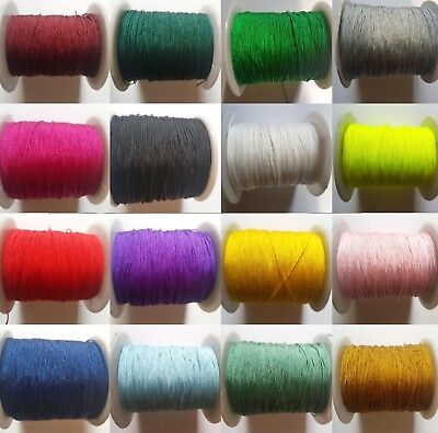 4, 10,20 Metre Fine Thin Nylon Thread, Cord, 0.5Mm, Stringing, Bracelet, Macrame