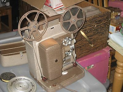 Vintage Bell Howell 253-AX 8mm Film Projector :: Very Good Working Condition
