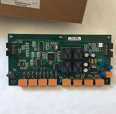 (NIB) Galaxy GCS 20-0117-20 600 DIGITAL I/O BOARD - 8 Input 4 Output Form-C SPDT
