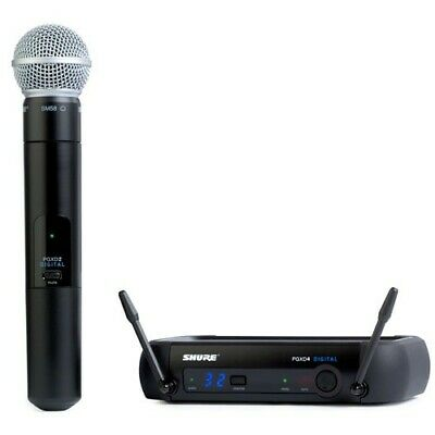 Shure PGXD24/SM58 Digital Wireless Handheld Dynamic Microphone System