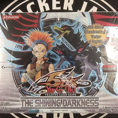 Yu-Gi-Oh The Shining Darkness Sealed Booster Box - 24 packs