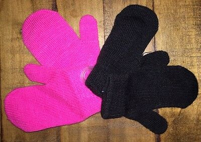 Toddler Winter Mittens- 2 Pairs