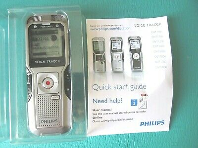 GENUINE Philips DVT-3400 Digital Voice Tracer 4GB--SUPER FAST SHIPPING!!!