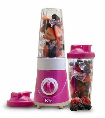 Personal Drink Mixer - for smoothies & protein shakes w/ 2pc 28 oz cups