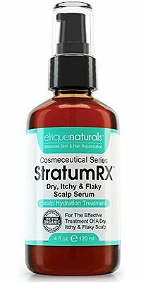 StratumRX Psoriasis Treatment Serum for Dry Itchy & Flaky Scalp Treatment - 4oz