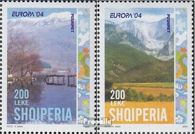 Albania 2966A-2967A (complete.issue.) unmounted mint / never hinged 2004 Europe