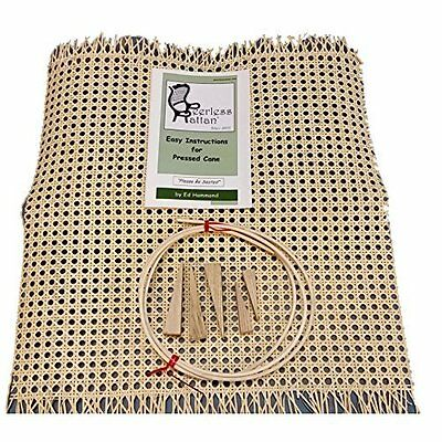 "Chair Recaning Replacement Repair Kit 18"" x 18"" by Deb's Seat Weaving"