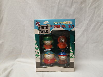 Original 1998 South Park Collectable Figurine Set New In Box