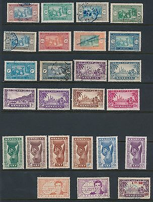 1892 - 1965 Senegal (63) ALL DIFFERENT; NICE COLLECTION; CV $43