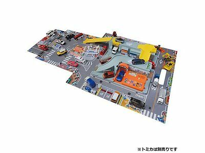 Takara Tomy Tomica World Exciting Lively 45 Sound Town City Toys Carrying BOX