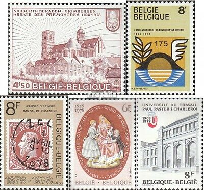 Belgium 1940,1941,1942,1957-1958 mint never hinged mnh 1978 special stamps