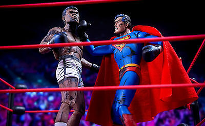 NECA - SUPERMAN vs MUHAMMAD ALI - COMIC FIGUREN 2-PACK - NEU/OVP
