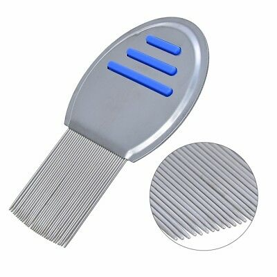 New Lice Treatment Comb For Head Lice/Nit Lice Flea Removal Stainless Steel Lin
