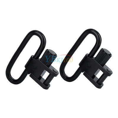 2Pcs Quick Detach QD Sling Swivel Screw Buckle Mount Adapter ES For Gun Rifle