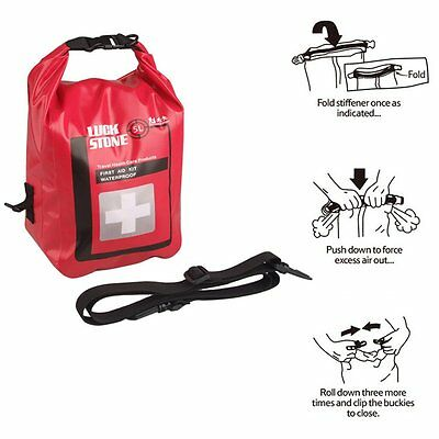 5L Waterproof Outdoor First Aid Kit Survival Medical Emergency Bag Pouch Rescue