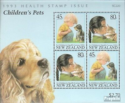New Zealand block36 (complete issue) unmounted mint / never hinged 1993 Pets