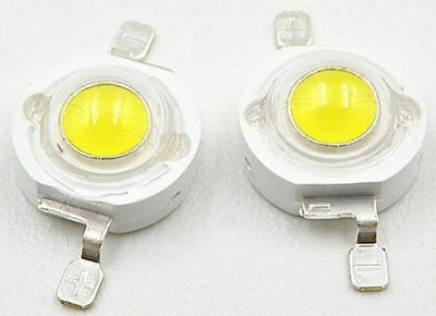 10 x 1W High Power SMD LED Warm White Cold White 110-120LM 120 Deg