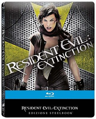Resident Evil - Extinction (Limited Steelbook) (Blu-Ray) SONY PICTURES