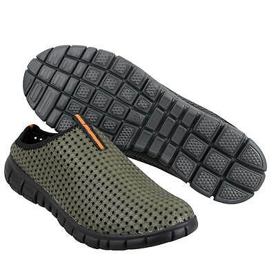 Prologic NEW Green Fishing Bank Slippers Slip On Shoes *All Sizes*