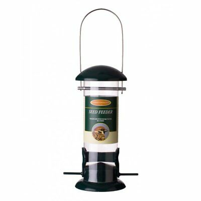 Johnston & Jeff Standard Seed Feeder - Wild Bird Seed Feeder