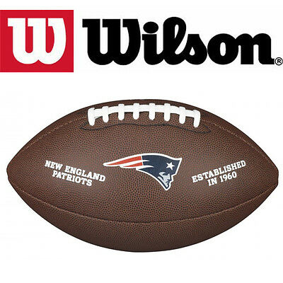 Wilson Official NFL American Football New England Patriots Pro Composite Ball