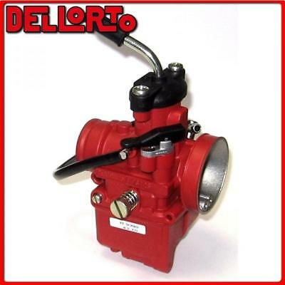 09381 Carburetor Dellorto Vhst 28 Bs 2T Manual Air Universal Scooter -Red Racing