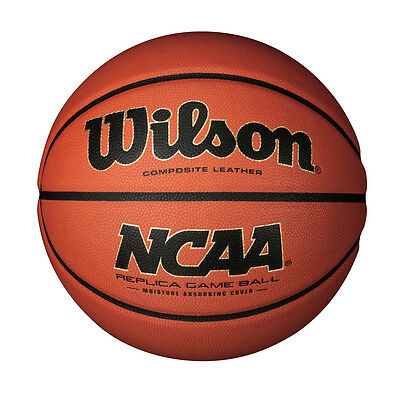 Wilson Official Replica NCAA Basketball Composite Leather Match Ball