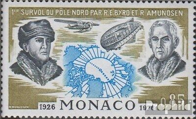 Monaco 1242 (complete issue) unmounted mint / never hinged 1976 north pole fligh