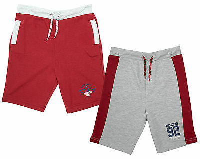 Boys PACK OF 2 Surf Club Team 92 Cotton Summer Fashion Shorts 1.5 to 8 Years