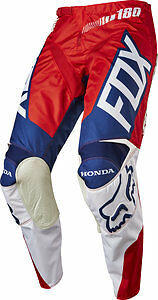 Fox Racing 180 Honda Pants Ken Roczen Red/White Motocross Supercross 17264-054