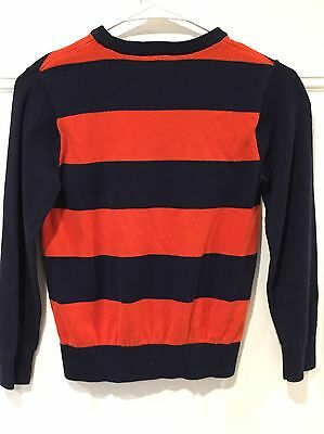 Children's Place Boy's Youth Striped Long Sleeve Sweater Size M 7/8-EUC