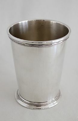 PATRICK HENRY Sterling MINT JULEP CUP - P705 by INTERNATIONAL SILVER Co c.1940
