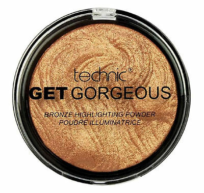 Technic Get Gorgeous 24CT Gold - Shimmer Highlighter Bronzed Contour Define Tan