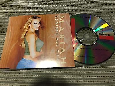 Mariah Carey - Against All Odds Cd Single 1 Track Promo Columbia 99