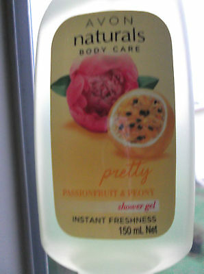Avon Naturals Passionfruit And Peony Shower Gel