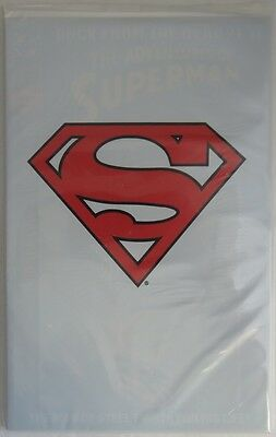 Adventures Of Superman #500 Polybagged -  Nm                    (Inv8940)