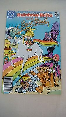 Vintage 1986 Rainbow Brite And The Star Stealer Dc Comic Book Mint Bright Colors