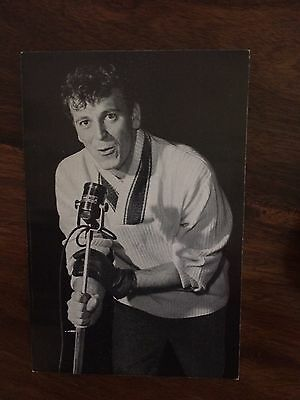 Rare French Flyer For Gene Vincent Concert In Paris 1962