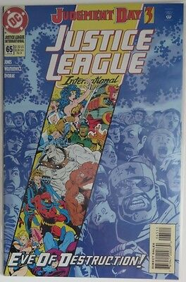 1994 Justice League International #65  -   F                          (Inv9003)