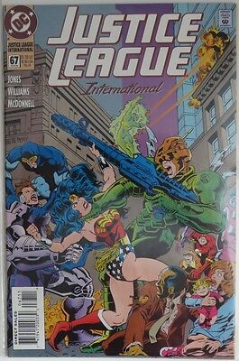 1994 Justice League International #67 -   Vf                    (Inv9027)