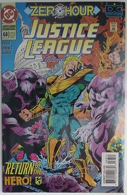 1994 Justice League International #68 -   Vf    Error Issue            (Inv9026)