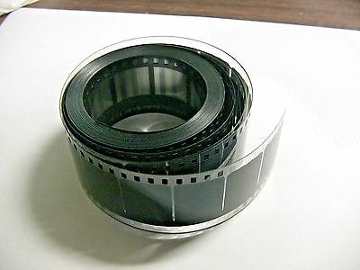 35MM HEAD COUNTDOWN FILM LEADER  Mylar (estar) 35FT