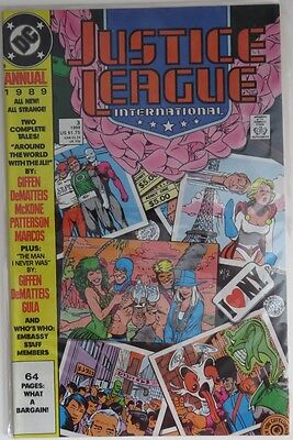 1989 Justice League International Annual #3 -   F                    (Inv9053)