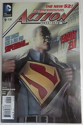 2012 Action Comics #9 The New 52 -  Vf                (Inv4043)