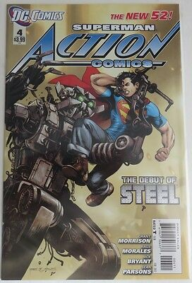 2012 Action Comics #4 The New 52 -  Vf/nm                (Inv4018)