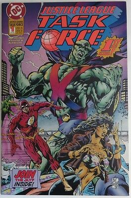 1993 Justice League Task Force #1   -  Nm                          (Inv11423)